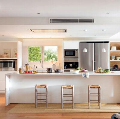 Luminaria autonoma a leds de emergencia atomlux for Diseno para cocina comedor
